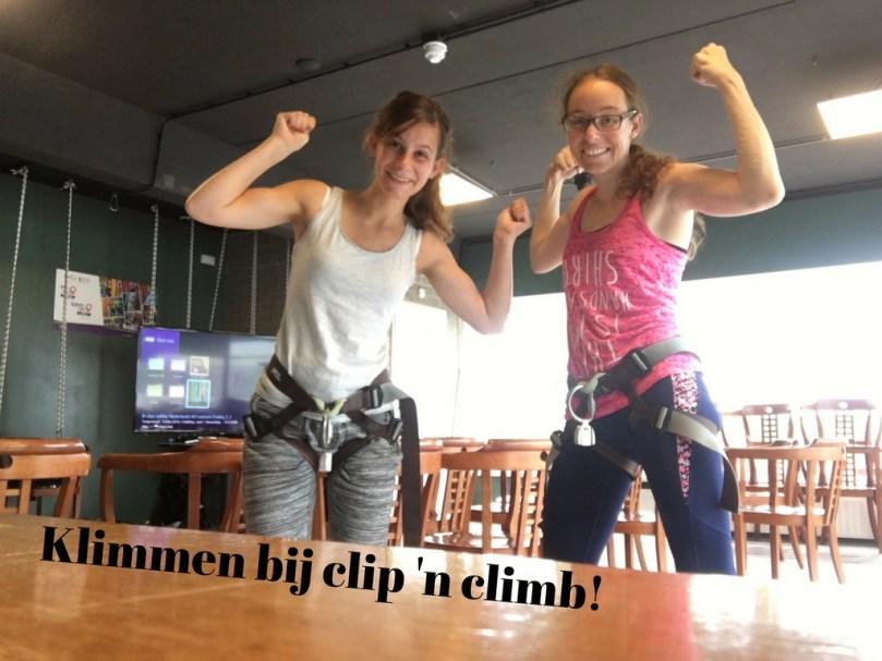 VLOG: Naar Clip 'n Climb in Amsterdam!