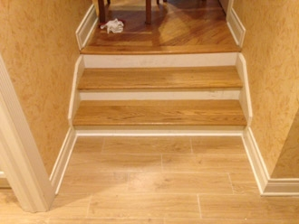 Staircases And Stair Treads In Jacksonville Florida | Solid Red Oak Stair Treads | Stair Parts | Slate Tile | Wood | Staircase Makeover | Stair Railing