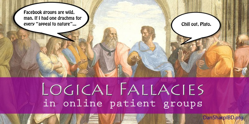 Logical Fallacies in Online Patient Groups