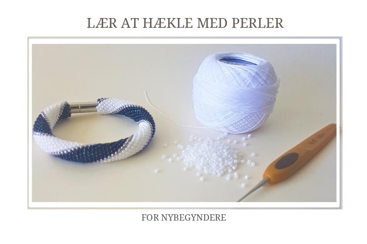 Lær at hækle med perler - Nybegynder