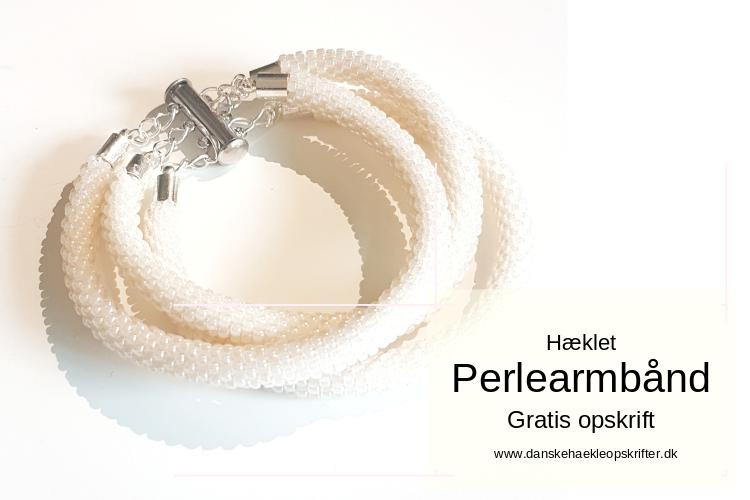 Hæklet Perlearmbånd