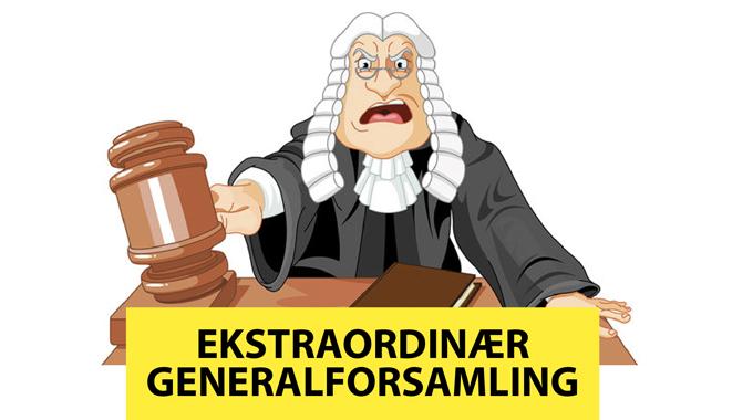 Indkaldelse til ekstraordinær generalforsamling
