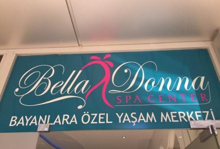 Bella donna alanya hamam kun for kvinder