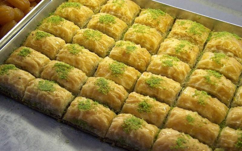 Hjemmelavet baklava, baklava opskrift, tyrkiske kager, tyrkiske retter, tyrkisk mad, tyrkiske opskrifter