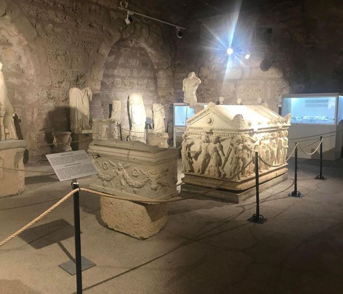 Side museum: Arkæologisk museum i Side