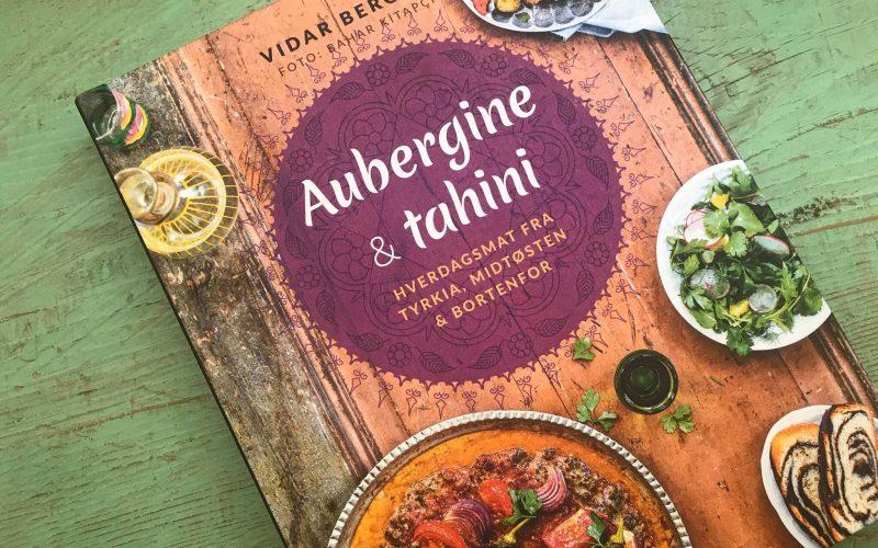 aubergine & Tahini af Vider Bergum tyrkisk kogebog, tyrkiske kogebøger, mellemøsten kogebøger