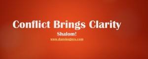 Conflict Brings Clarity dan skognes motivation blogger speaker teacher trainer educator 2