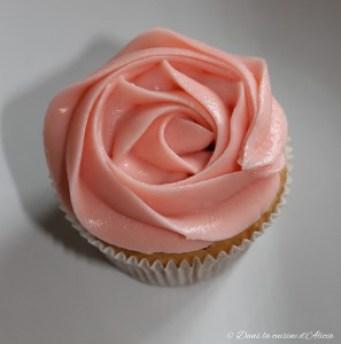 Cupcake framboises