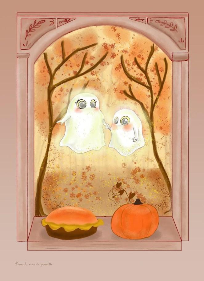 Petits fantômes gourmands
