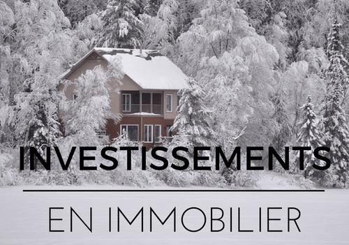 Investissements en immobilier : des débuts fructueux