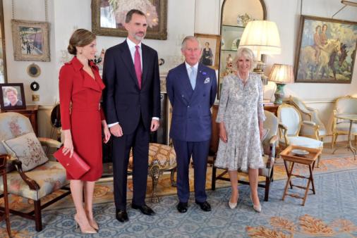 Tea time avec le prince de Galles