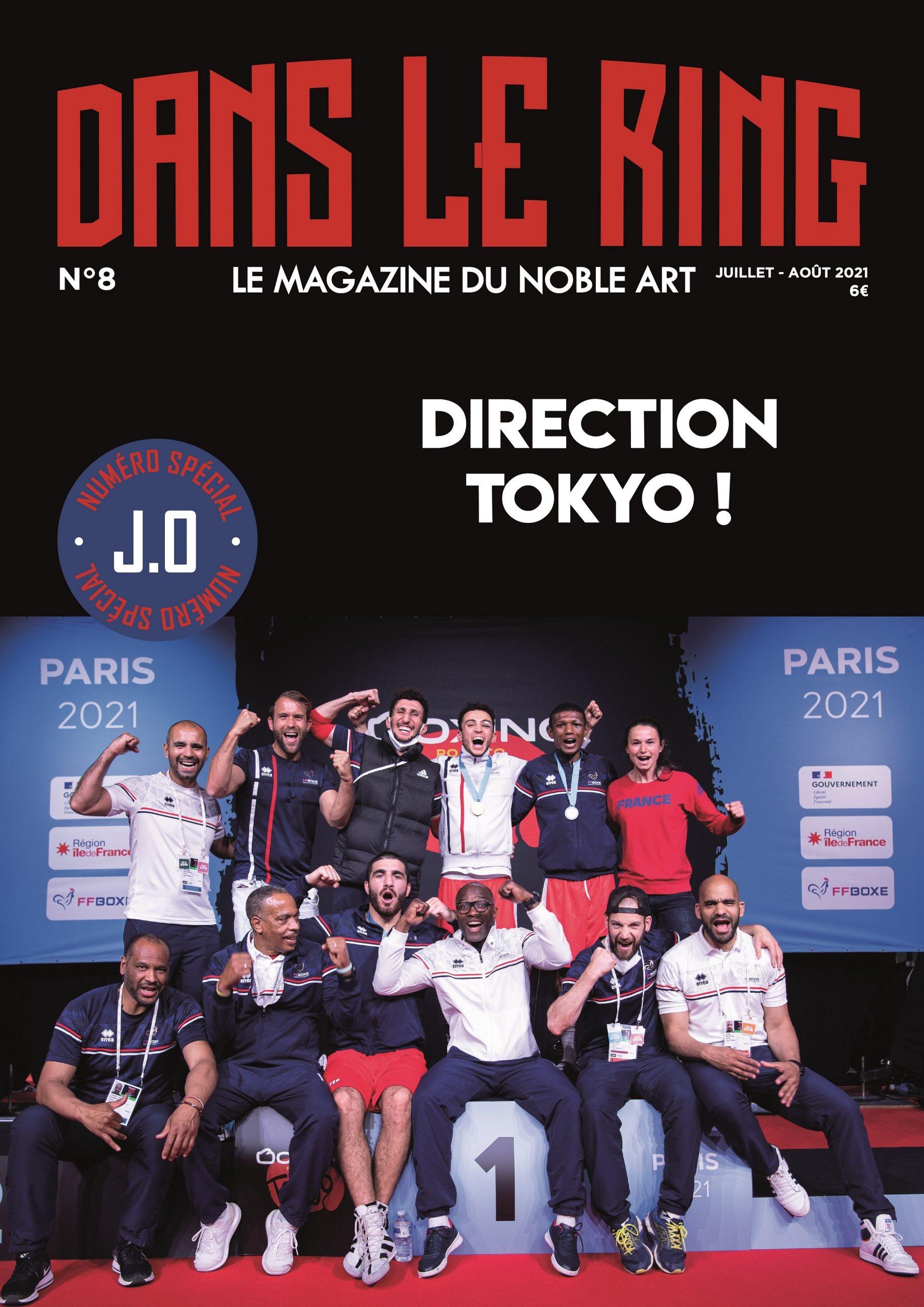 Dans Le Ring Mag #8 – Spécial J.O Tokyo