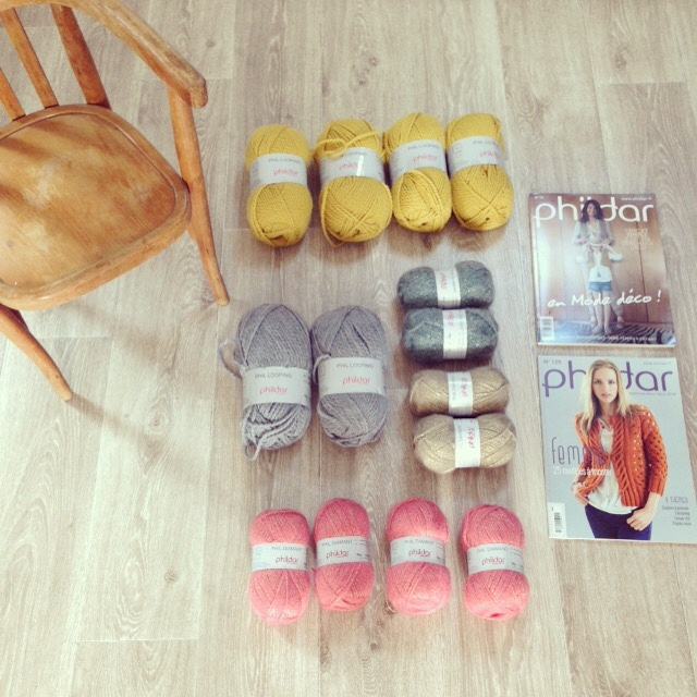 achat de laine phildar