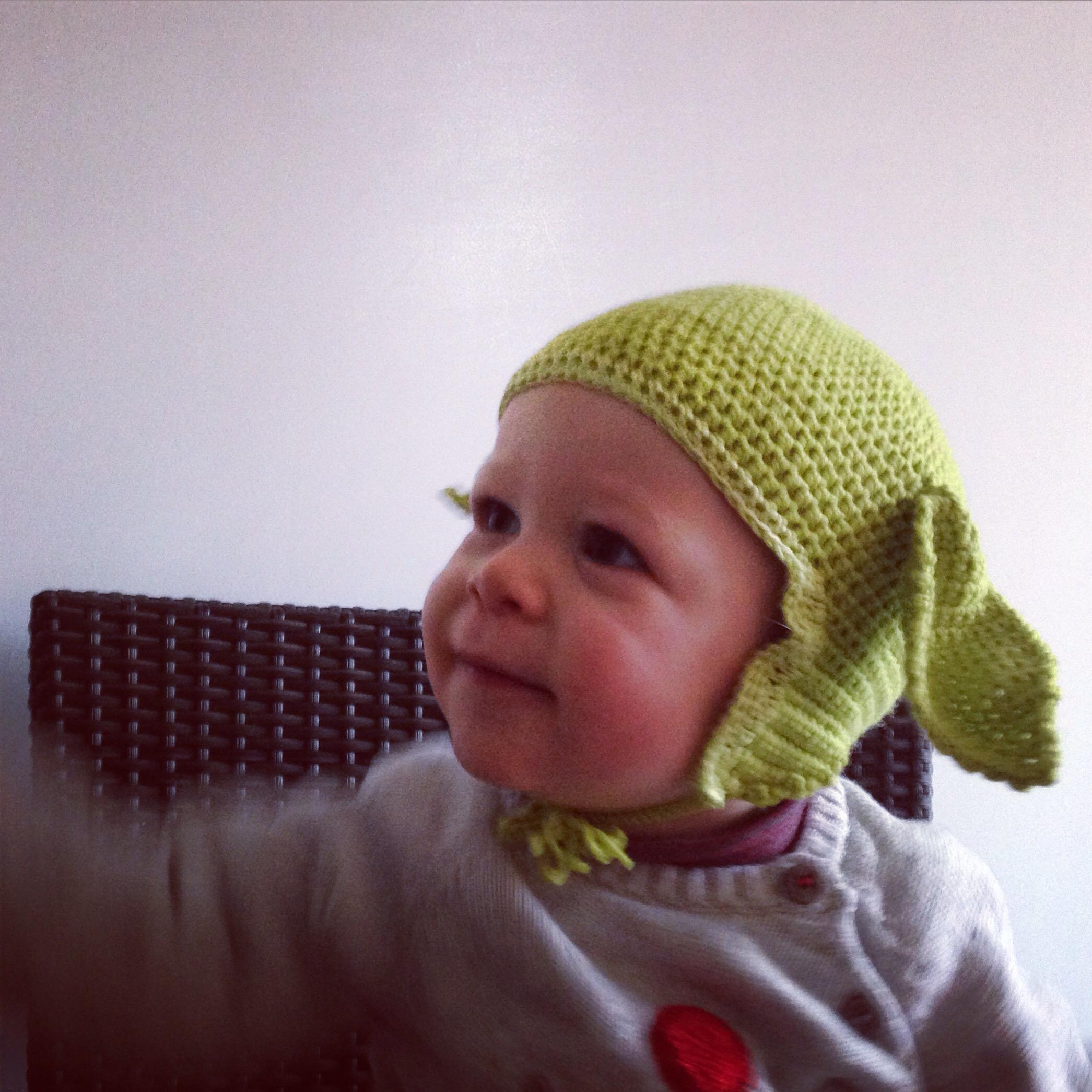 bonnet yoda tricot