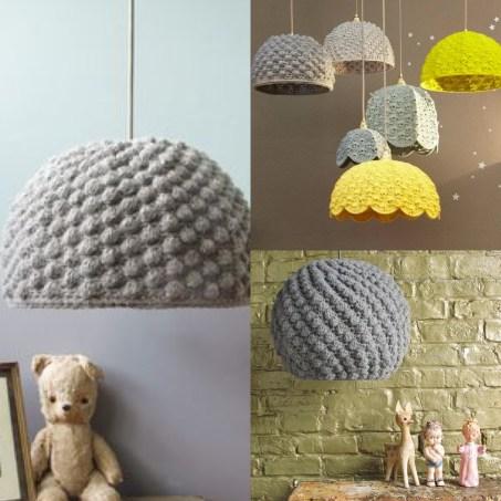 abat jour en crochet le tuto le blog de caro tricote. Black Bedroom Furniture Sets. Home Design Ideas
