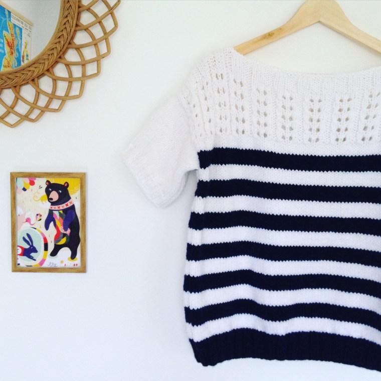 Tuto - Marinière au tricot