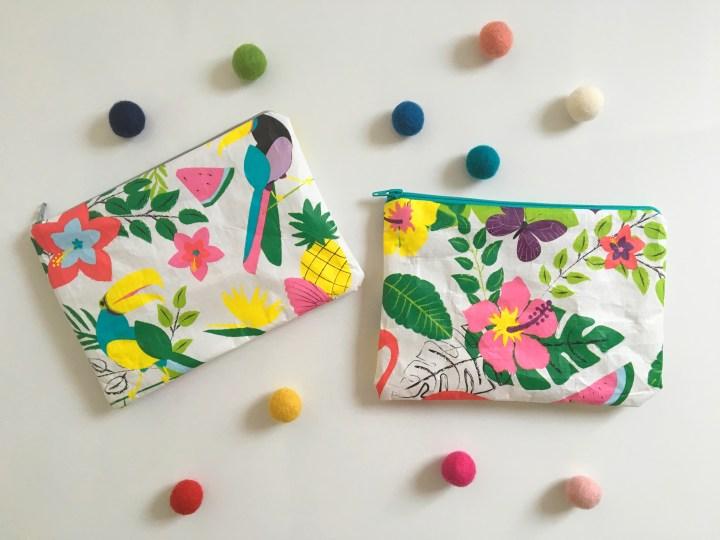 Tuto : Recycler un sac cabas en pochettes