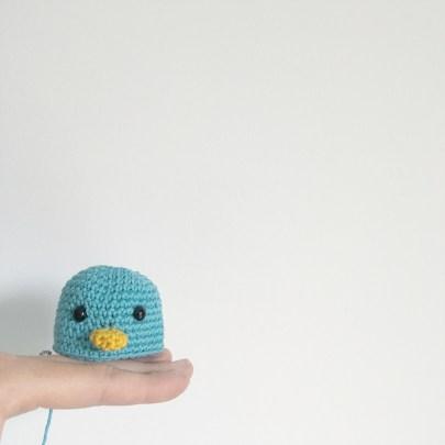 Crochet : Maurice mon petit canard des îles