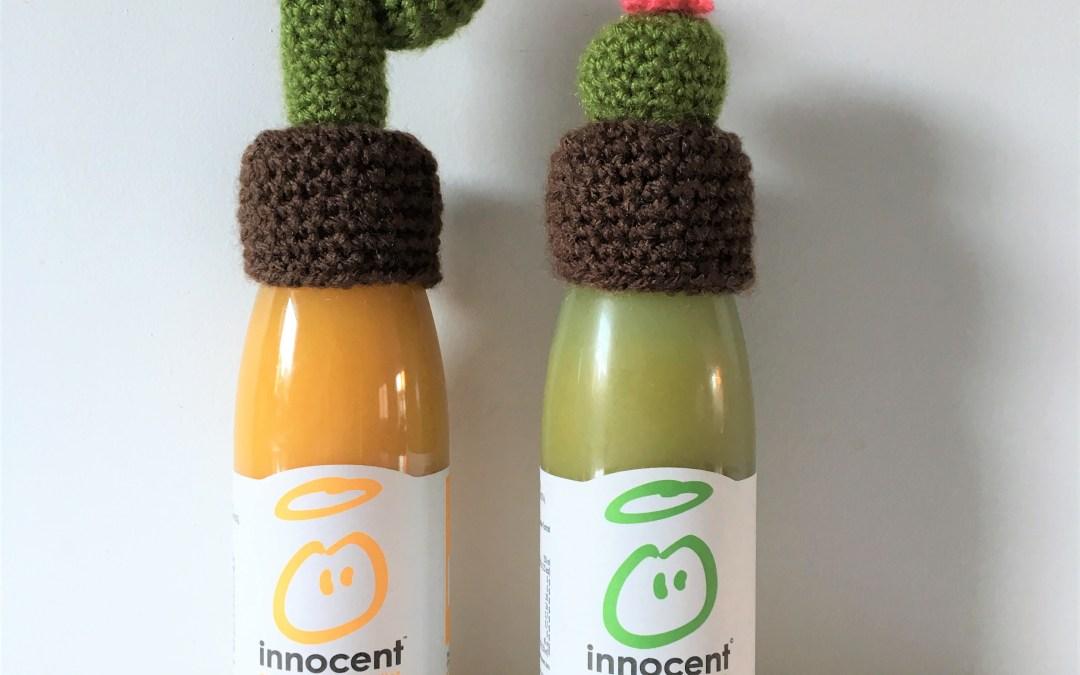 Tuto : Deux petits bonnets au crochet qui ne manquent pas de piquant – Pour l'opération «Innocent – Mets ton bonnet»