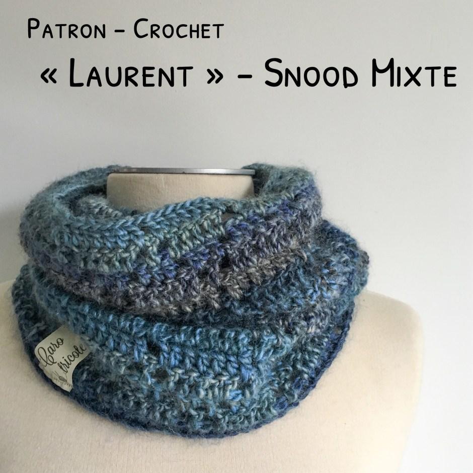 Mon Snood Laurent Au Crochet Modèle Homme En Phil
