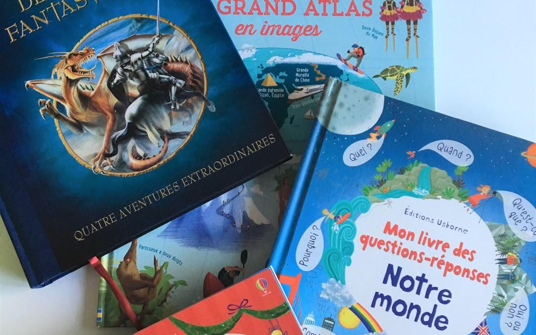 Quels livres offrir pour un petit garçon de 5 ans ? – Découvrez ma sélection aux Editions Usborne