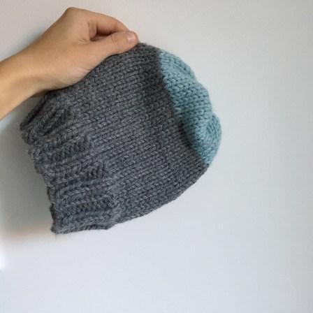 """Tuto tricot : Bonnet """"Lucien"""" (débutant - aiguilles circulaires)"""