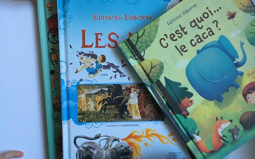 Ma sélection lecture jeunesse aux Editions Usborne – De l'histoire, de l'art et des moteurs !