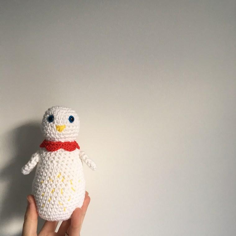 Tuto crochet : une poule pour Pâques