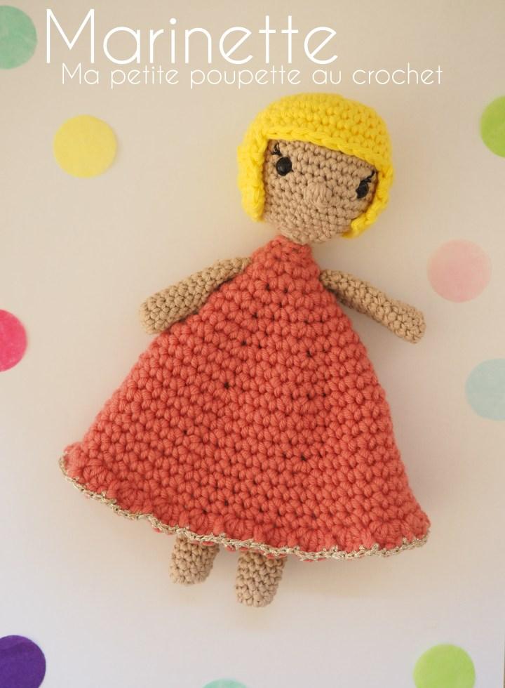 Marinette, ma petite poupette au crochet – Tuto poupée / amigurumi