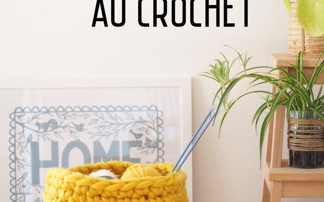 Tuto : Crocheter un panier géant – J'ai testé la WAOUH WOOL de Bergère de France