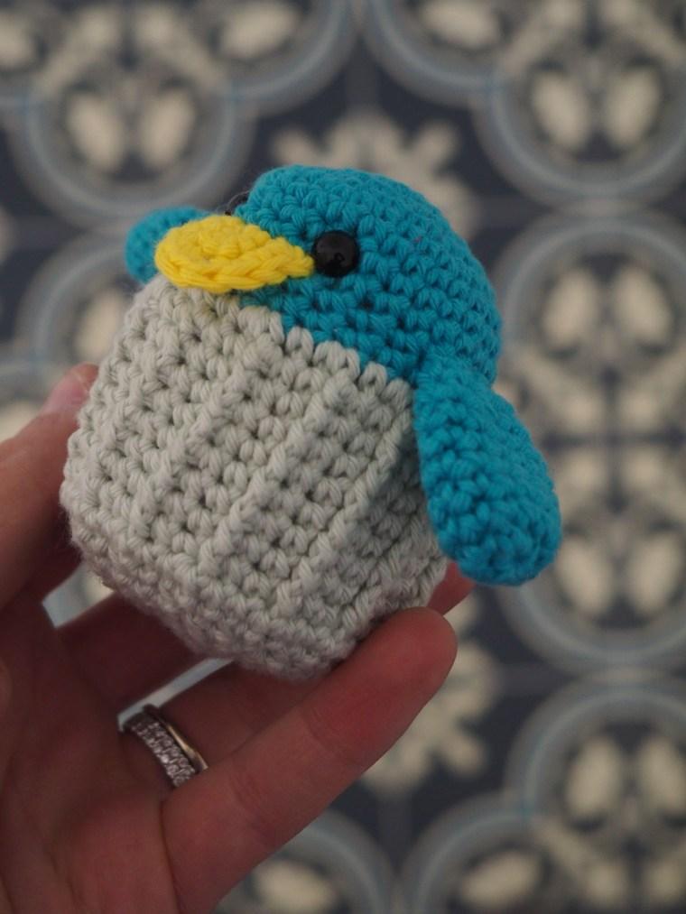 Tuto crochet : Kevin le Piout - Amigurumi en Ricorumi
