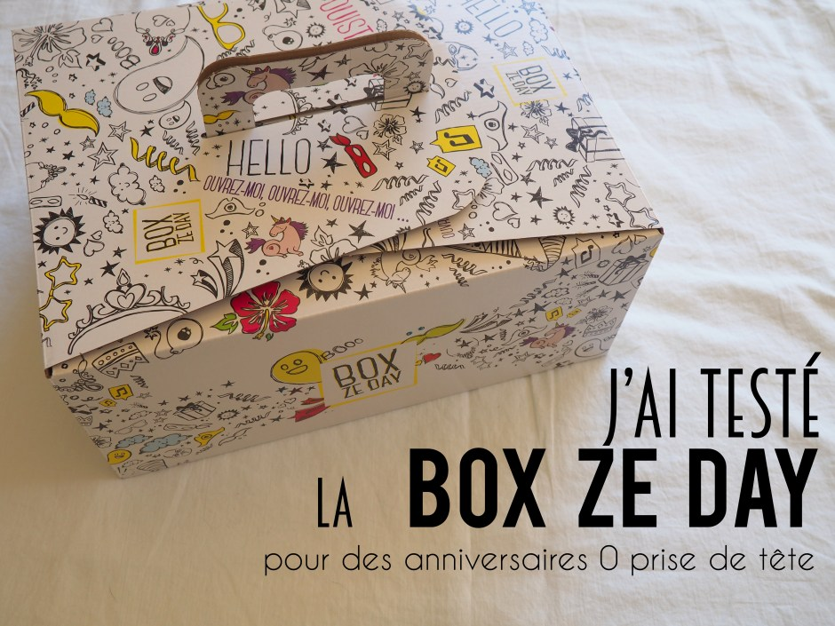 J'ai testé la Box Ze Day