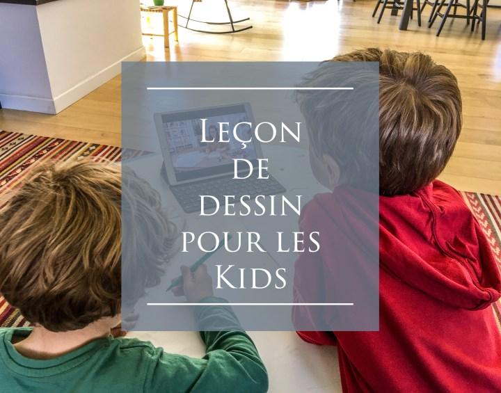 Mercredi avec les Kids ! – Leur apprendre à dessiner : la vidéo très complète chez Artesane