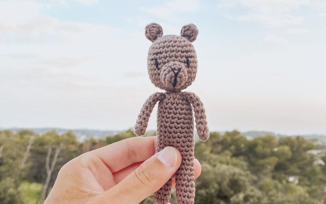 Tuto Crochet : Armand, Mon petit pote ours