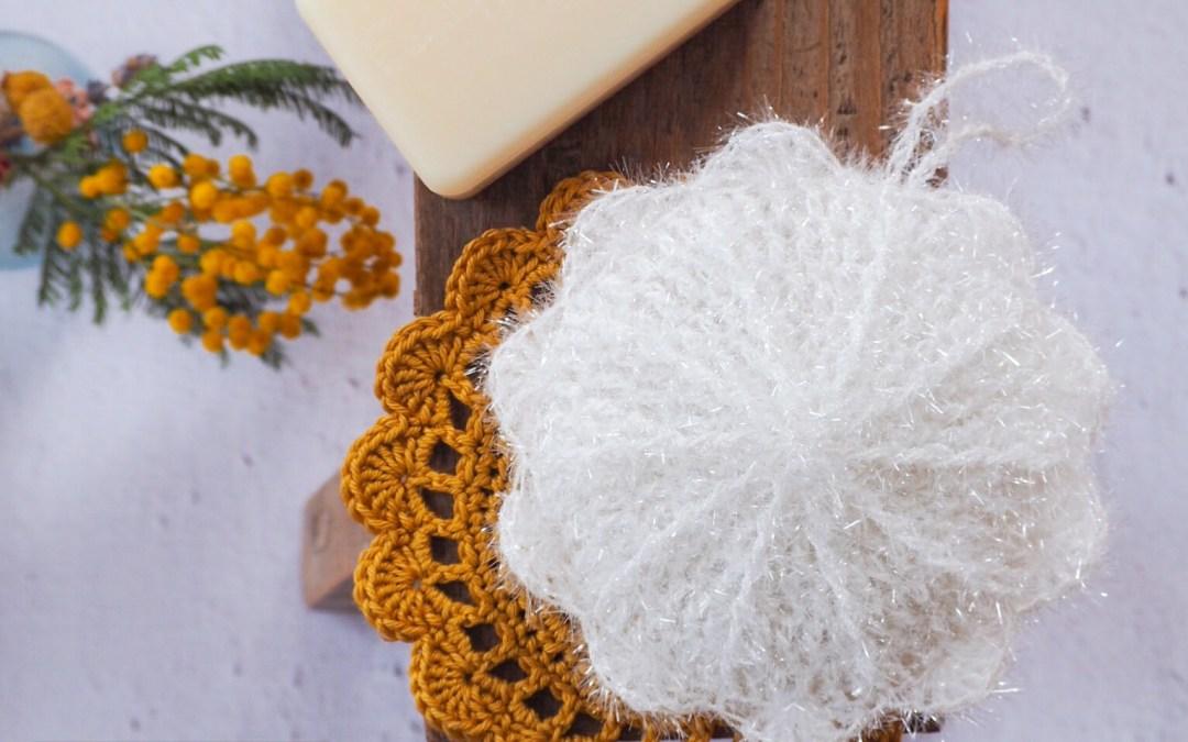 Mon éponge au crochet – Nouveau modèle en Creative Bubble de Rico Design