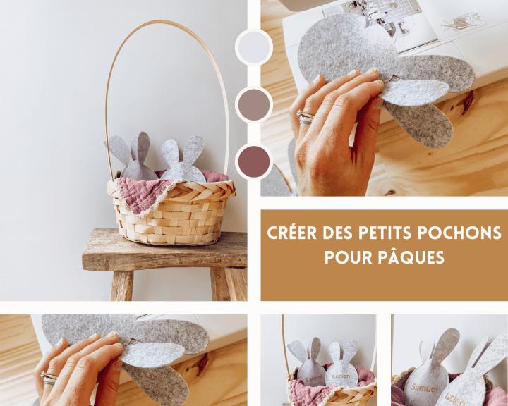 Tuto pour Pâques : Créer des petits pochons pour cacher les petites surprises de vos enfants