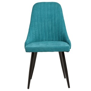 mina chaise turquoise