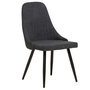 mina chaise gris foncé