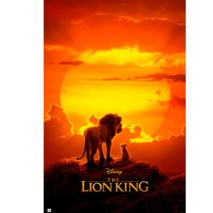 DISNEY THE LEON KING ONE feuille