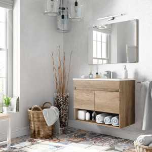 Cotton salle de bain suspendue