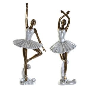 BALLERINES Set de 2 figures en résine 14x14x34 cm
