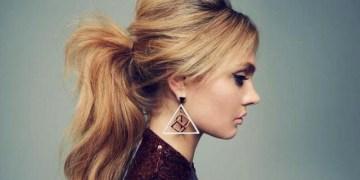 gaya rambut ponytail