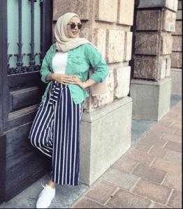 hijab kulot blouse