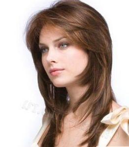 gaya rambut panjang segi