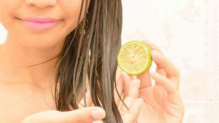 Rambut sehat secara alami dengan jeruk nipis