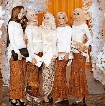 kebaya modern pesta pernikahan