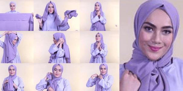 Tata Cara Memakai Hijab Modern Lengkap Dengan Gambarnya Dans Media