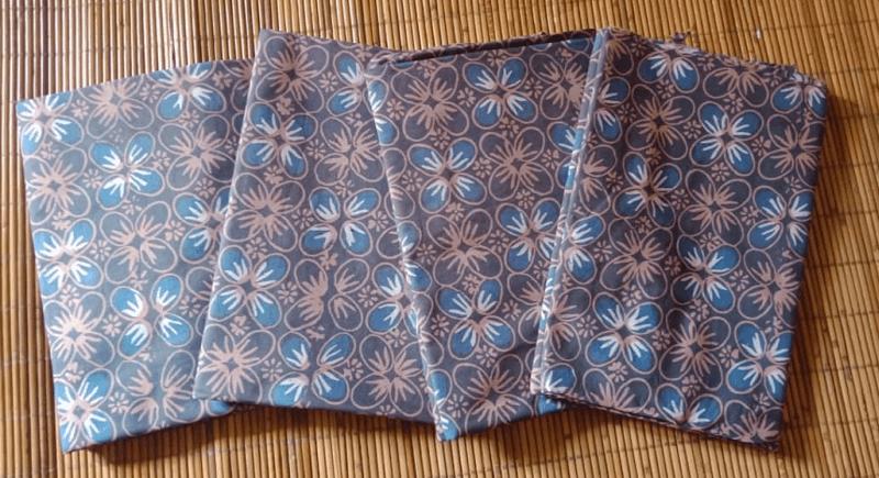 Gambar Filosofi batik Kawung yang berkonsep sederhana