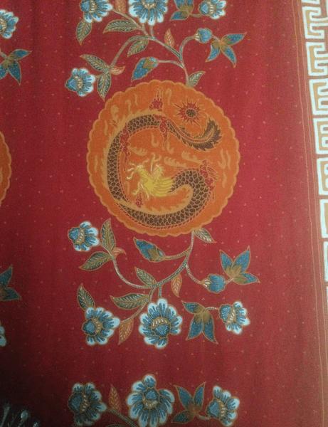 Batik Pekalongan Motif Liong