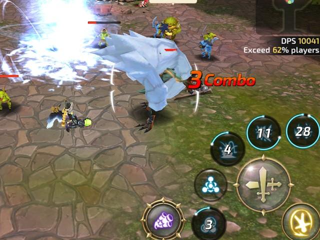 Dragon Nest M – Sea, game MMORPG android RAM 2GB ke bawah